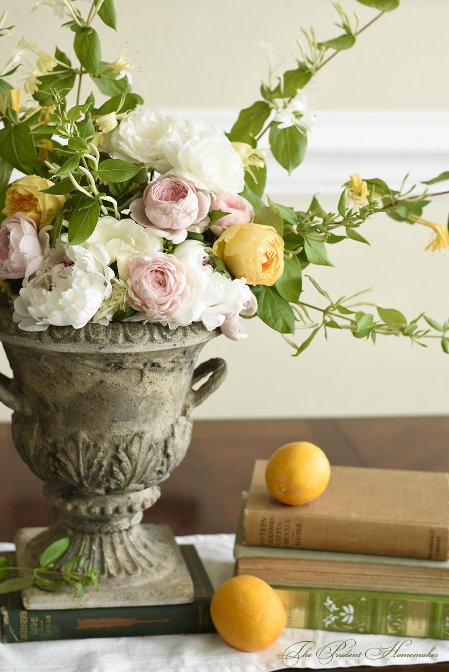 April arrangement 2 closeup The Prudent Homemaker