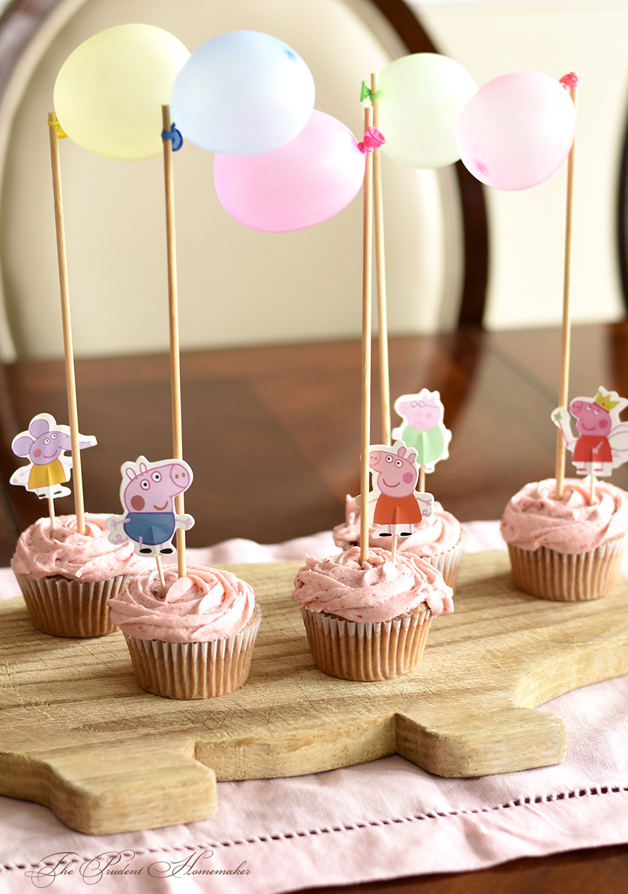 Peppa Pig Cupcakes The Prudent Homemaker