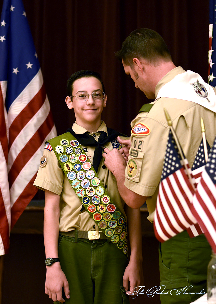 Ezrom Eagle Scout The Prudent Homemaker