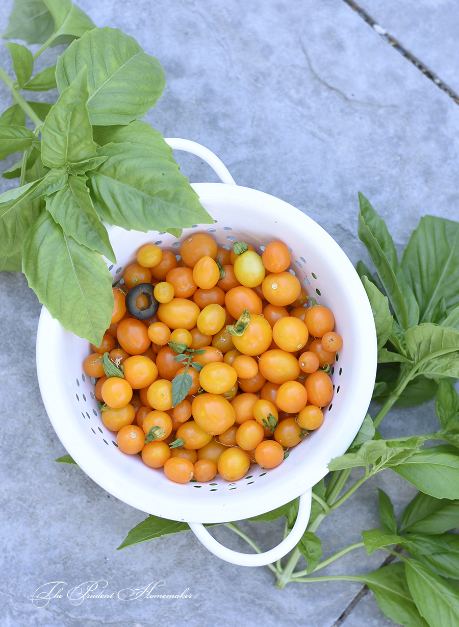 Sun Gold Tomatoes The Prudent Homemaker