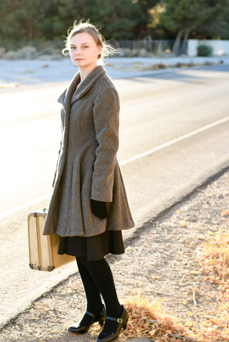 Winter's Wool Coat From Blankets